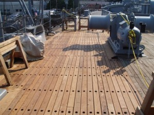 Larger Deck Repair Area