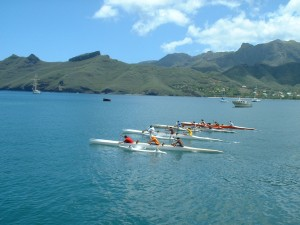 Three Man Outrigger Start