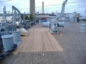 Sanded Battleship Deck