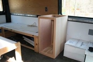 Galley Cabinet Started